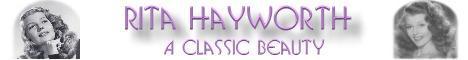 Rita Hayworth banner