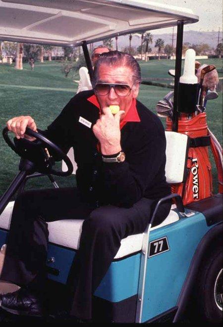 Golfing Vic