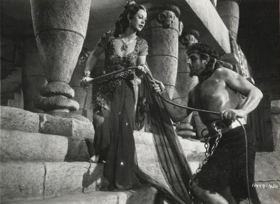 Vic and Hedy in Samson and Delilah